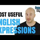 5 MOST USEFUL English expressions that you didn't learn at school!