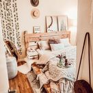 Minimalist soft hue Bedroom #schlafzimmer-interior