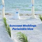 Suncoast Weddings   Periwinkle blue