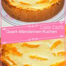 Low Carb Quark-Mandarinen-Kuchen