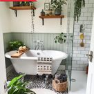 Before & After: A Dated Bathroom Becomes a Serene, Plant-Filled Oasis for £2,000