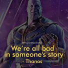 We are All Bad | Amazing Quote by Thanos | Avenger Endgame