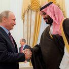 صور الرئيس الروسي يستقبل سمو ولي ولي العهد في موسكو محمد بن سلمان اخبار وزير الدفاع السعودي Kremlin Putin Prince