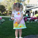 Girls Easter skirt pattern pdf sewing pattern Easter dress | Etsy