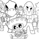 Brawl Stars Coloring Pages. Print Them For Free! - Coloring Home Pages