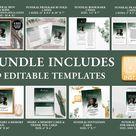 Funeral Bundle Printable Memorial Package Funeral Program | Etsy