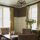 Brown Dining Rooms