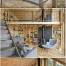 This cozy cabin was built to be a book lover's paradise - Living in a