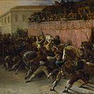 Théodore Géricault (1791-1824) Racers sans cavalier à Rome 1817