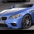 Download BMW M5 2014 F10 sedan 3D Model   DesireFX.COM