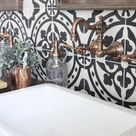 Modern Farmhouse Bathroom Remodel Reveal   White Cottage Home & Living