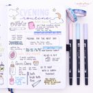 How To Bullet Journal for Mental Health 19 Page Ideas