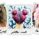 All the Many Crazy Hair-Color Trends of 2015