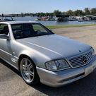 BaT Auction Brabus Modified 2002 Mercedes Benz SL500 Silver Arrow