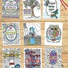 23 LDS Adult Coloring Book Pages BUNDLE set of 23 Hand drawn   Etsy