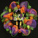 Mesh Ribbon Wreaths