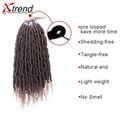 14 Inch pre twisted spring twist hair fluffy crochet braids spring twist pre loop goddess gypsy twist braiding