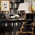 Gold Office Decor