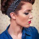 Sweetheart Hair Week: Tutorial #3 - Rockabilly Rosie