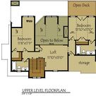 Small Lake Cottage Floor Plan | Max Fulbright Designs