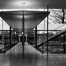 Pabellón de Alemania en la Exposición de Bruselas, Egon Eiermann y Sep Ruf