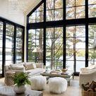 ... designer rustic modern lakeside retreat | home tour | décor