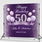 Black and Silver Backdrop  Party Decoration for Birthday   Etsy