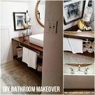 Budget Bathroom Makeovers