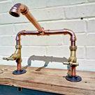 Kupferrohr Schwenkmischer Wasserhahn Wasserhähne