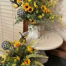Bumble Bee Summer Decorating
