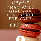 Birthday Places