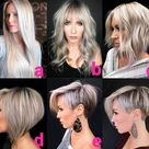 """@kratkovlasky.cz on Instagram: """"What are your favorite stages of long to short hairstyle path of beautiful @rachelwstylist 😍👏?  We 🤍 the last one 😉! Follow👉…"""""""