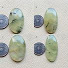 Green PREHNITE Cabochon Raw PREHNITE Gemstone Stunning Prehnite Semi Precious Handmade PREHNITE Loose Stone Prehnite Metaphysical Crystal