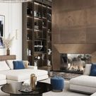 Charming and shinny living rooms