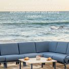Eclectic and elegant, perfectly balanced patio furniture