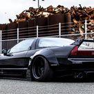 Original Honda / Acura NSX Tucks Away Sleek Styling Under Liberty Walk's Flamboyant Body Kit | Carscoops