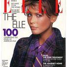 Elle US no 100 Dec 1993 American  Foreign Original Vintage Fashion Magazine Gift Birthday Present Claudia Schiffer  cover