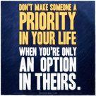 Priority Option