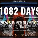 Countdown To 2024 Summer Olympics, Paris, France