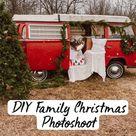 DIY Family Christmas Photoshoot