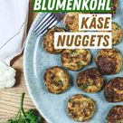 Blumenkohl Käse Nuggets