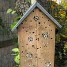 Build a Bee Hotel in your own backyard