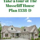 The Mosscliff House Plan 1338-D
