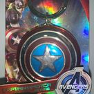 Marvel Captain America Shield Metal Keychain