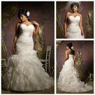 Wedding Dress Organza