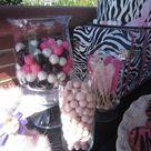 Pink Zebra Birthday