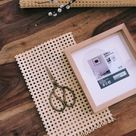 How to create a rattan tray on a budget