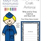 Veterans Day Craft for Kindergarten with Air Force Soldiers