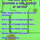 The best ways to promote a new product or service