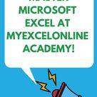 Microsoft Excel 101   Excel Basics